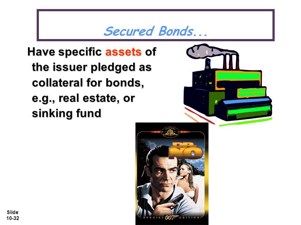 Slide 10-32 Secured Bonds...