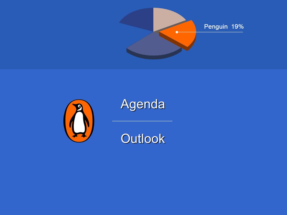 AgendaOutlook Penguin 19%