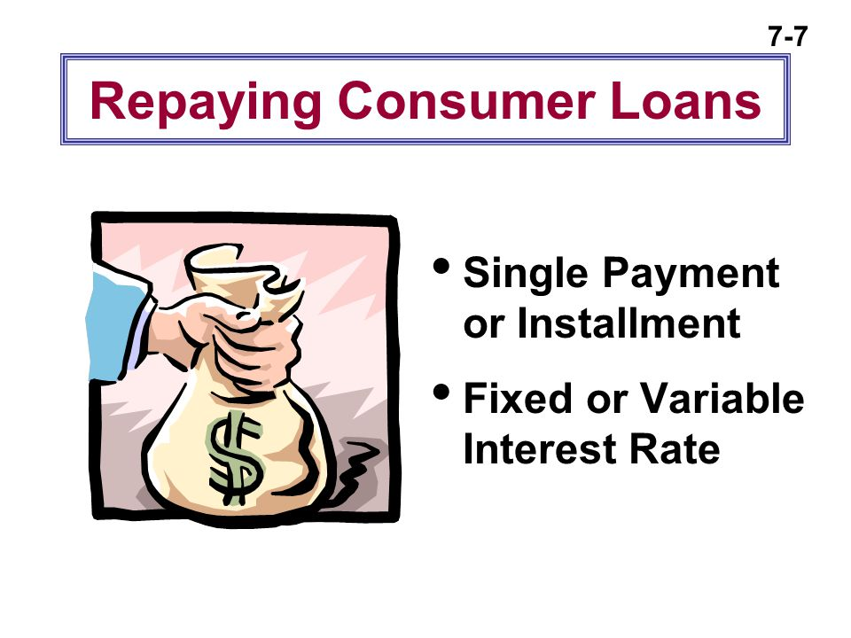 7-8 Where Can You Get Consumer Loans .