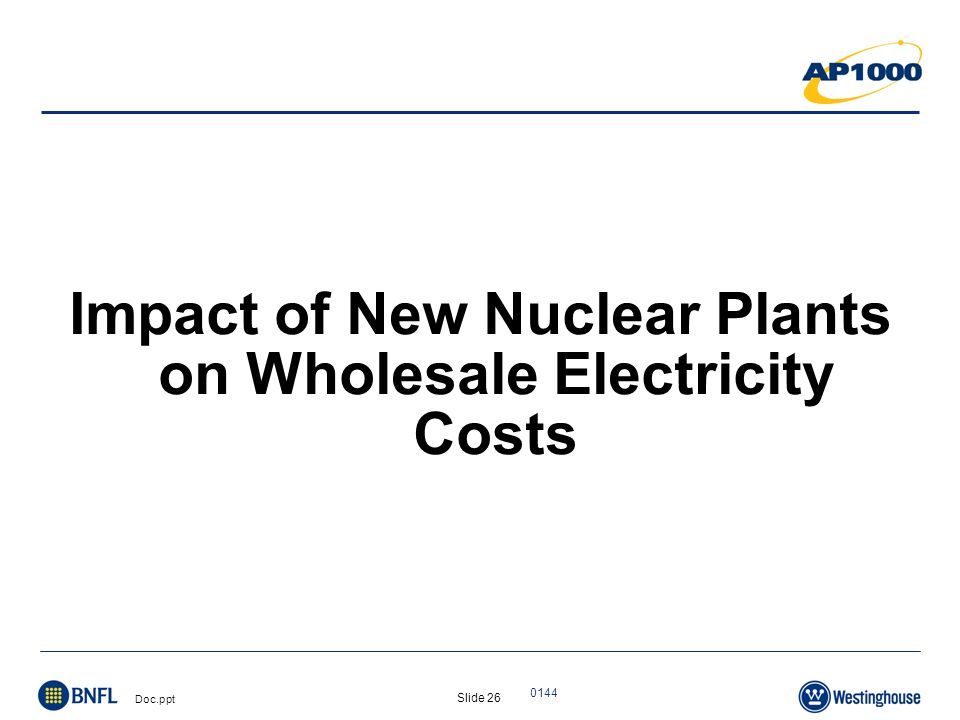 Slide 27 Doc.ppt 0144 Source: Global Energy Decisions Updated: 6/06 Production Costs = Operations and Maintenance Costs + Fuel Costs U.S.