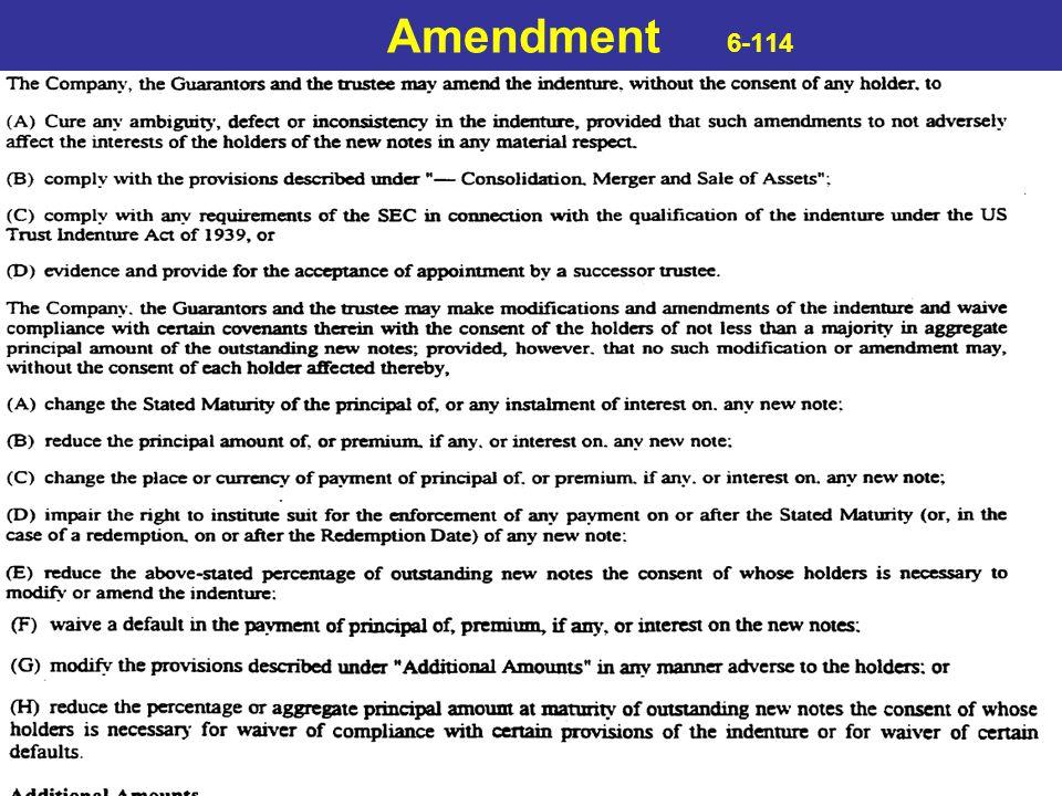 Amendment 6-114