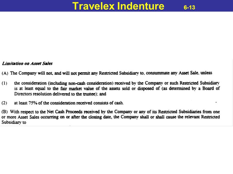 Travelex Indenture 6-13