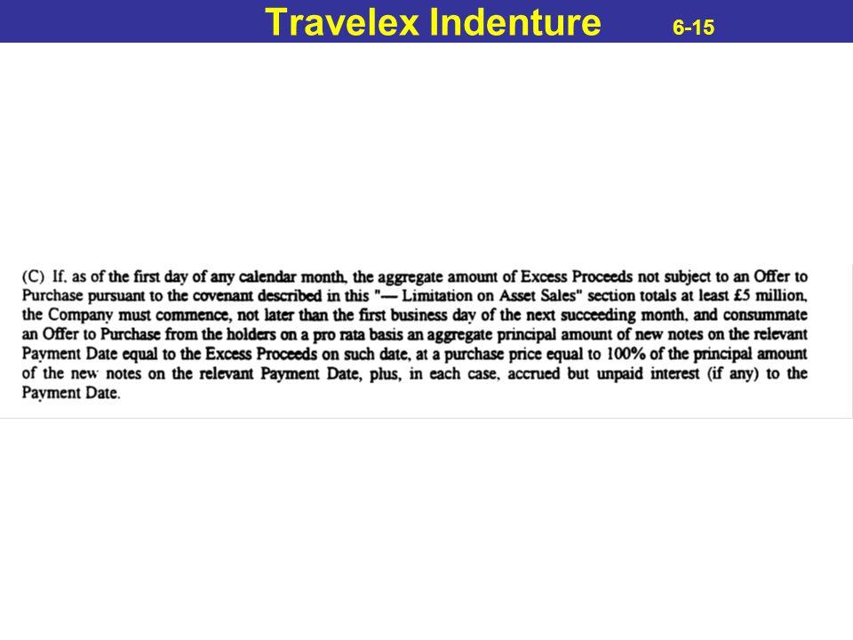 Travelex Indenture 6-15