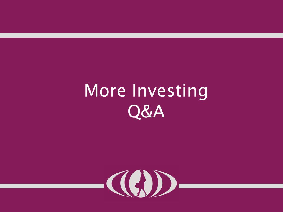 More Investing Q&A