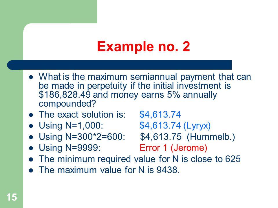 15 Example no.