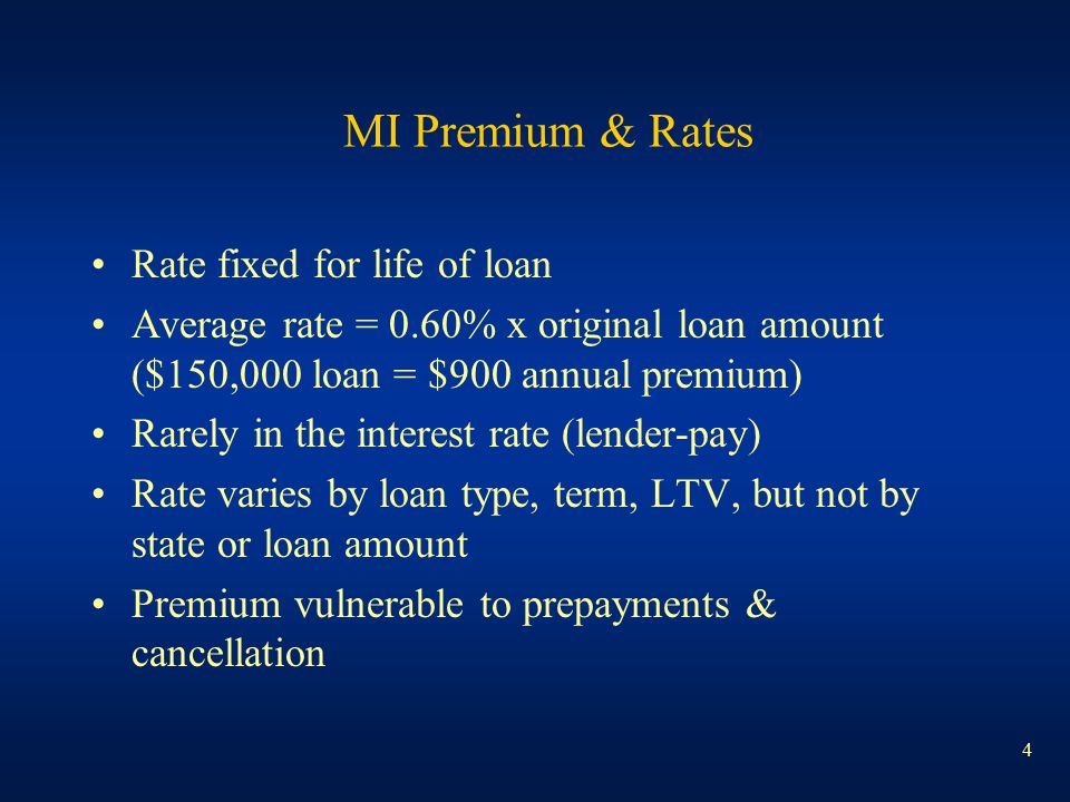 15 Loss Reserving Distinctives Claim = Loan that has defaulted as of the statement date Not a reserve for the life of the loan Type and amount of coverage Amounts paid can exceed theoretical coverage