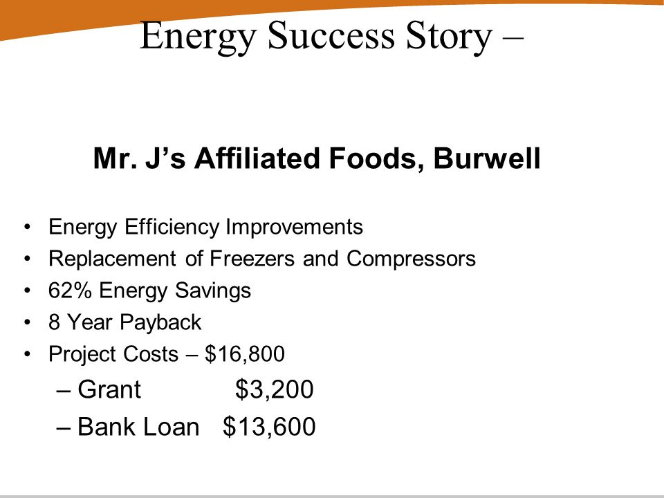 Energy Success Story – Mr.