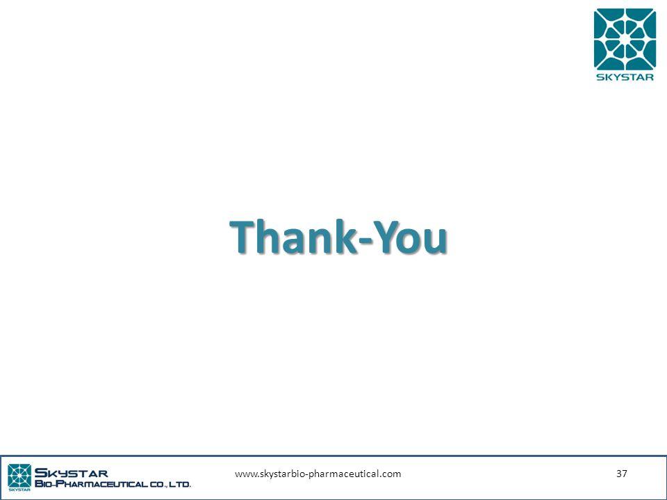 www.skystarbio-pharmaceutical.com37 Thank-You