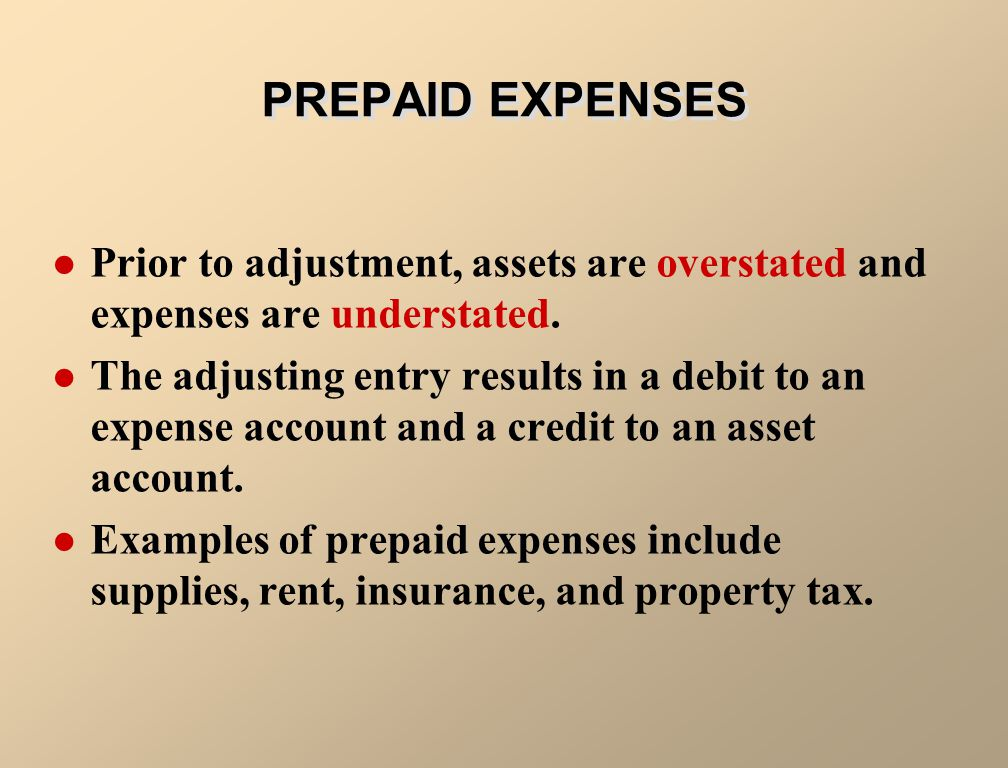 Prepaid expenses are expenses paid in cash and recorded as assets before they are used or consumed.