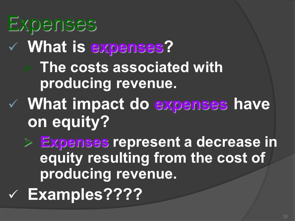 Rev. Recog - 52 MATCHING  Once revenues are determined, the expenses incurred in generating the revenue should be recognized.  As revenues are earne