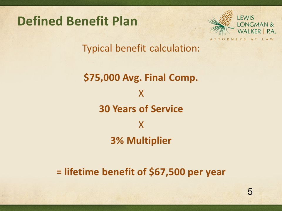 Pension Reform: What Florida Cities Have Done Naples (2012) – Police [Agreement with FOP ratified 10/11; pension changes implemented in March 2012] Pension changes for current and future employees:  Benefits frozen  Multiplier reduced from 3.63% to 3.0%  Final averaging period lengthened from 3 to 8 years  COLA eliminated (was 3% per year from age 55 to 62)  Salary reduced to exclude leave payouts  Normal retirement delayed for future employees to age 60 with 8 yrs service or 30 yrs service (was age 50 or 25 yrs service)  New DROP plan – 1.3% interest on DROP account 46