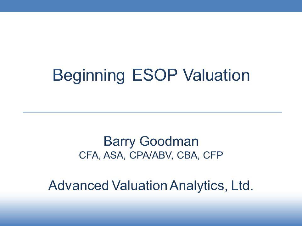 Advanced Valuation Analytics