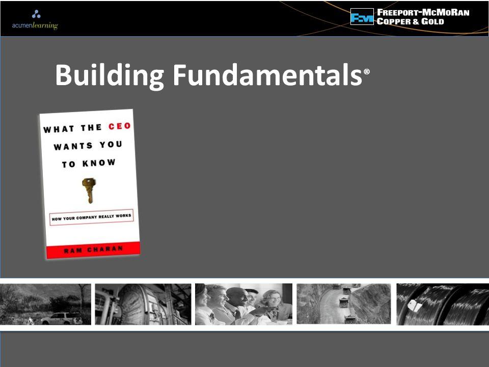 - Building Fundamentals ®