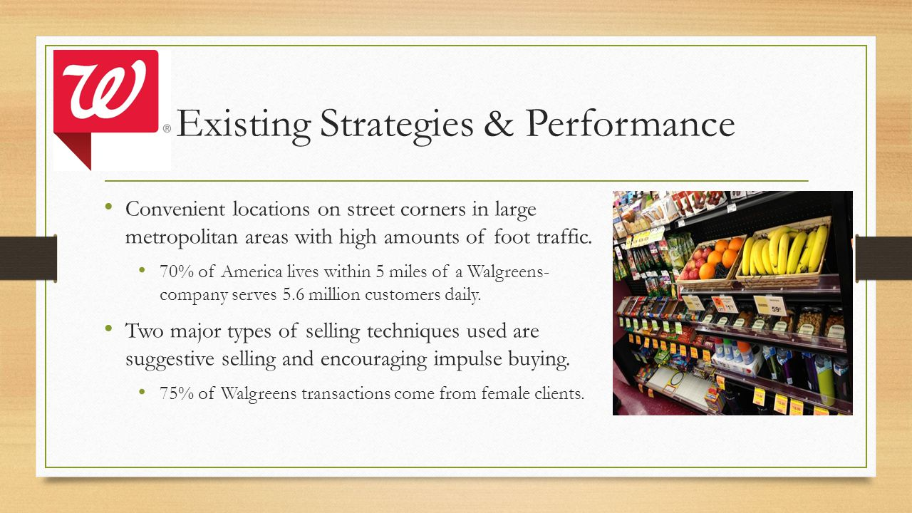 Existing Strategies & Performance Convenient locations on street corners in large metropolitan areas with high amounts of foot traffic.
