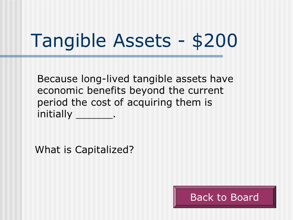 Amortization - $200 Acquisition cost of an asset less accumulated amortization.
