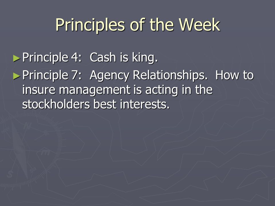 Chapter 2 Game Plan ► Overview of Accounting Statements  What are profits?  What is a company's book value? ► Corporate Taxes ► Free Cash Flow Measu
