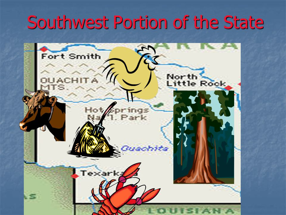 Southwest Portion of the State