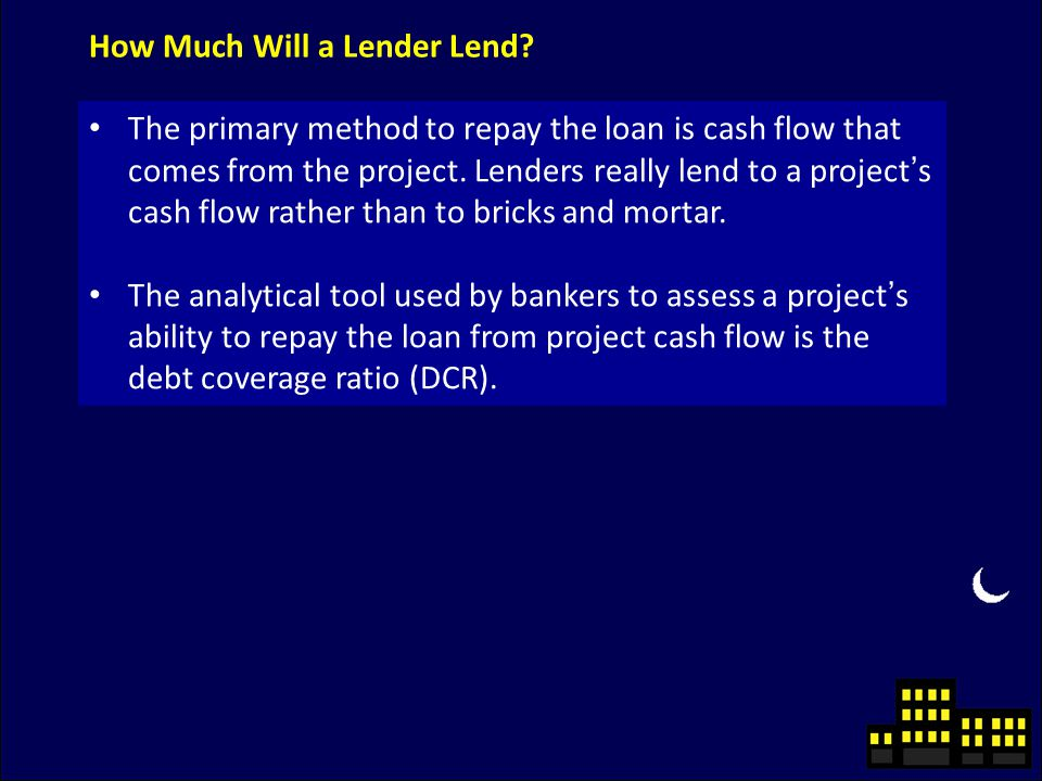 How Much Will a Lender Lend.