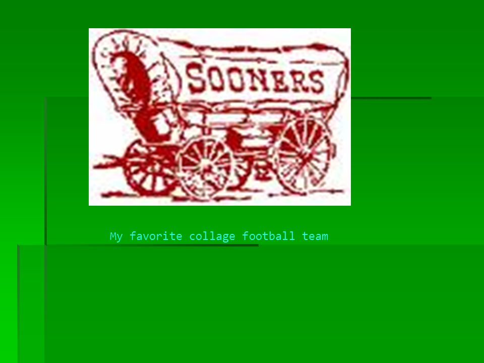 My favorite collage football team