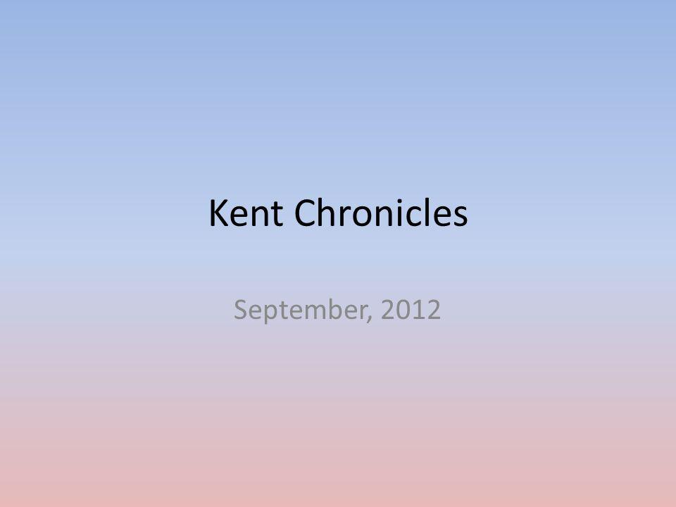 Kent Chronicles September, 2012