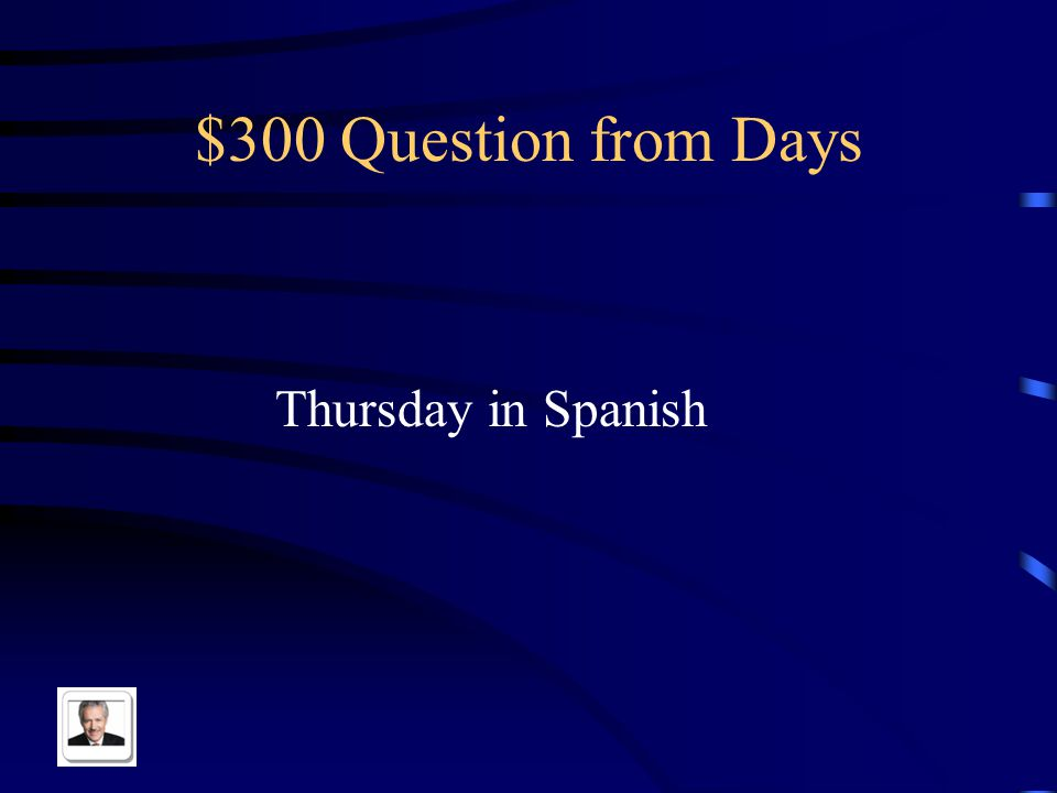 $200 Answer from Days Monday