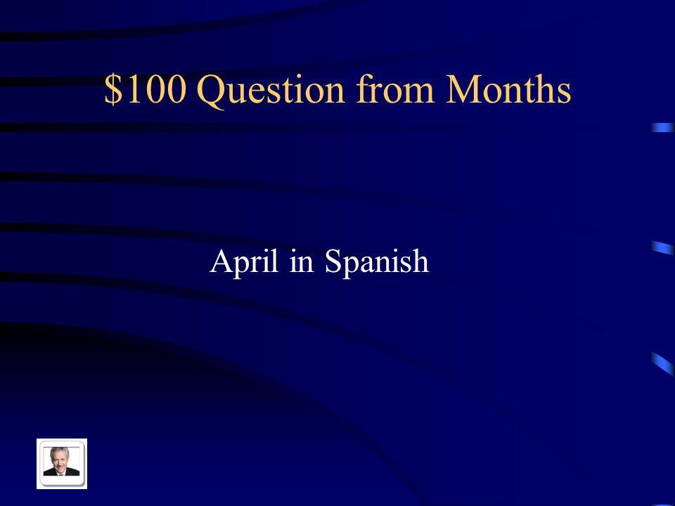 $500 Answer from Days Hoy es jueves, mañana es viernes
