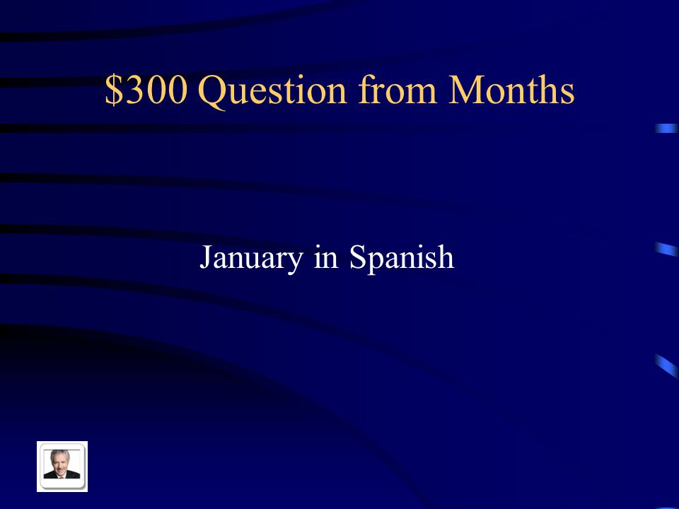 $200 Answer from Months El mes