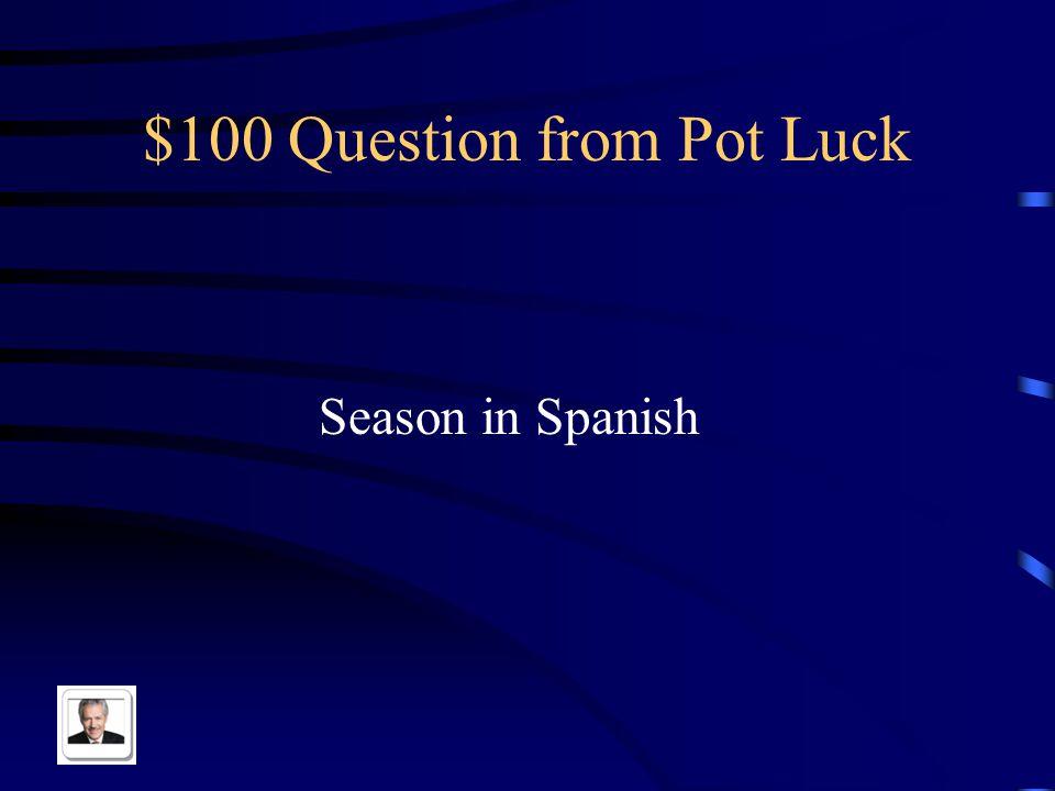 $500 Answer from Weather/Seasons Hace frio en el invierno