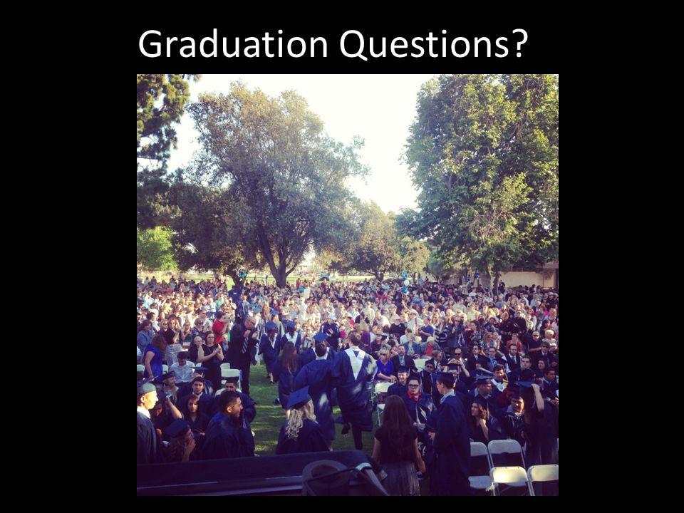 Graduation Questions