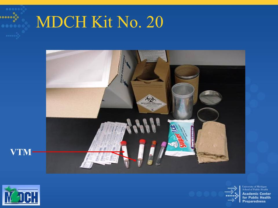 MDCH Kit No. 20 VTM