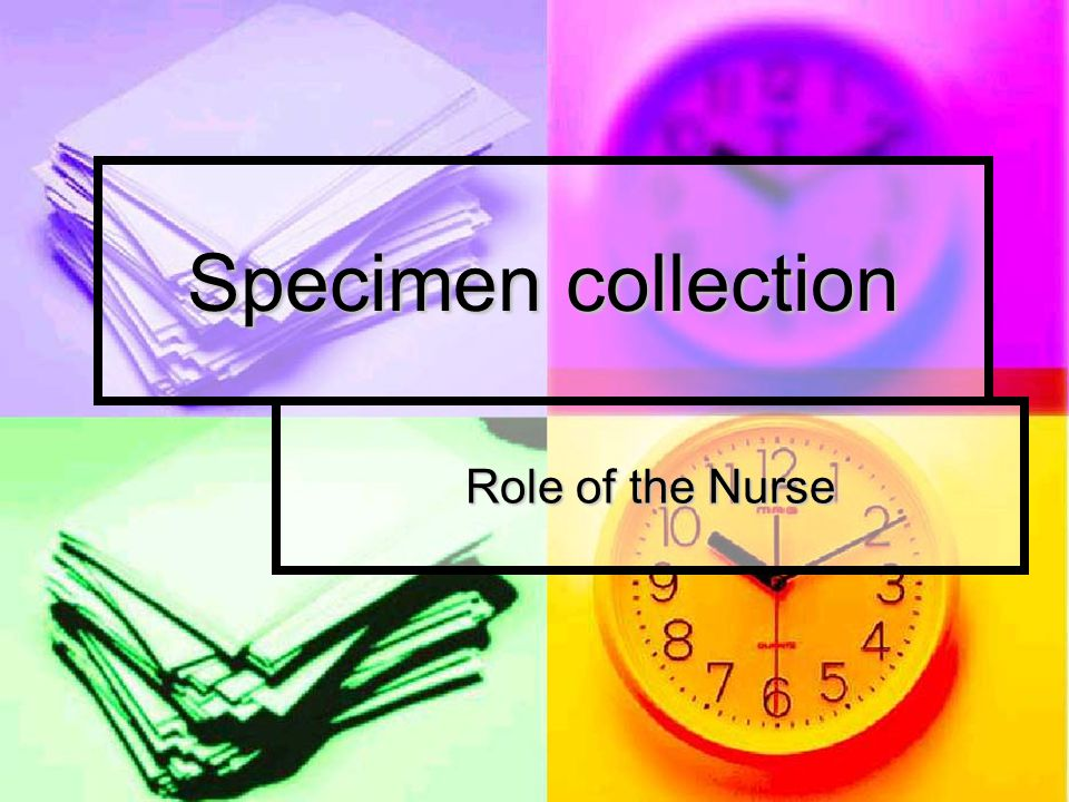 Urine specimen collection 2.Midstream Specimen  Clean voided  C&S  30-60 mls urine 3.