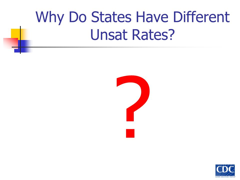 Why Do States Have Different Unsat Rates? ?