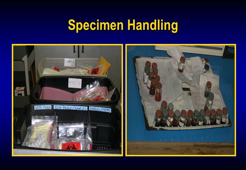 14 Specimen Handling
