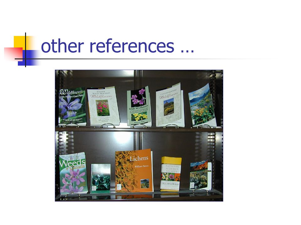 other references …