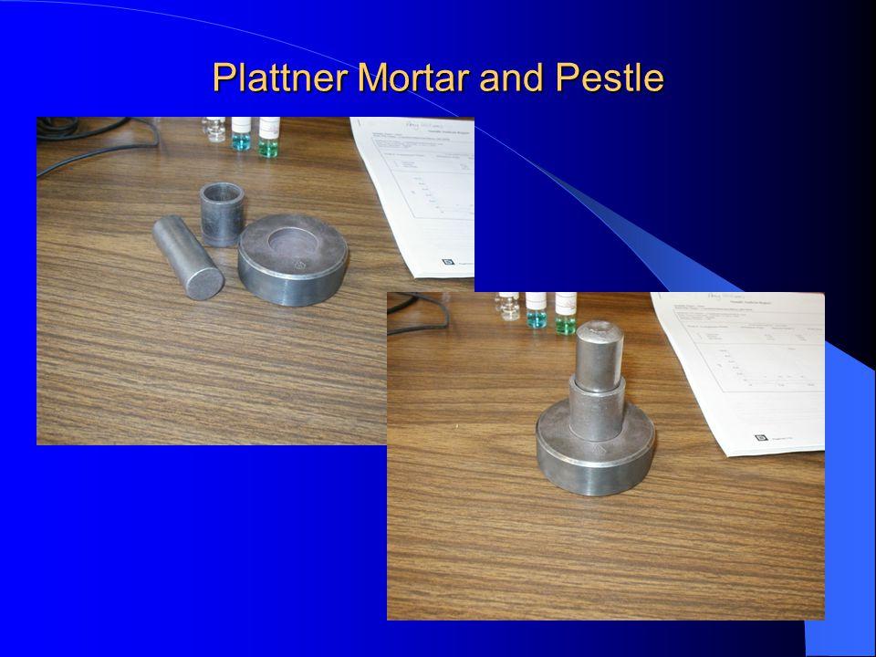 Plattner Mortar and Pestle
