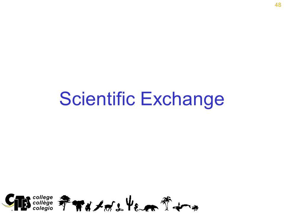 48 Scientific Exchange 48