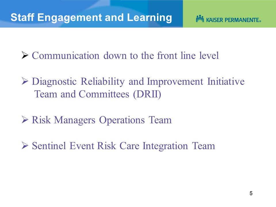 Diagnosis and Engagement 16
