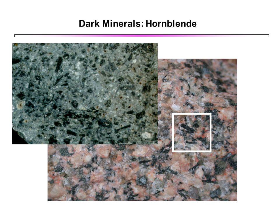 Dark Minerals: Hornblende