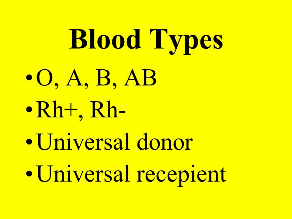 Common Tests CBC with differential Hematocrit Hemoglobin Prothrombin time