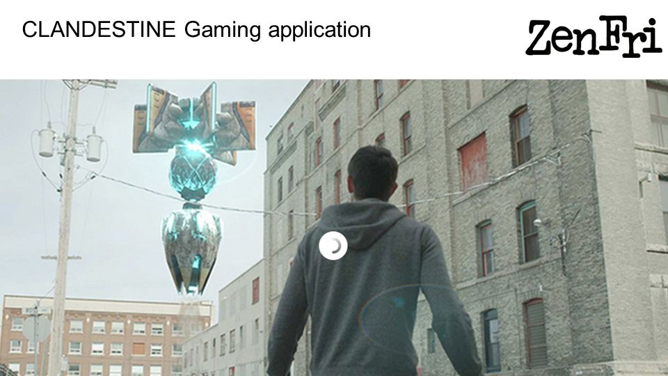 CLANDESTINE Gaming application