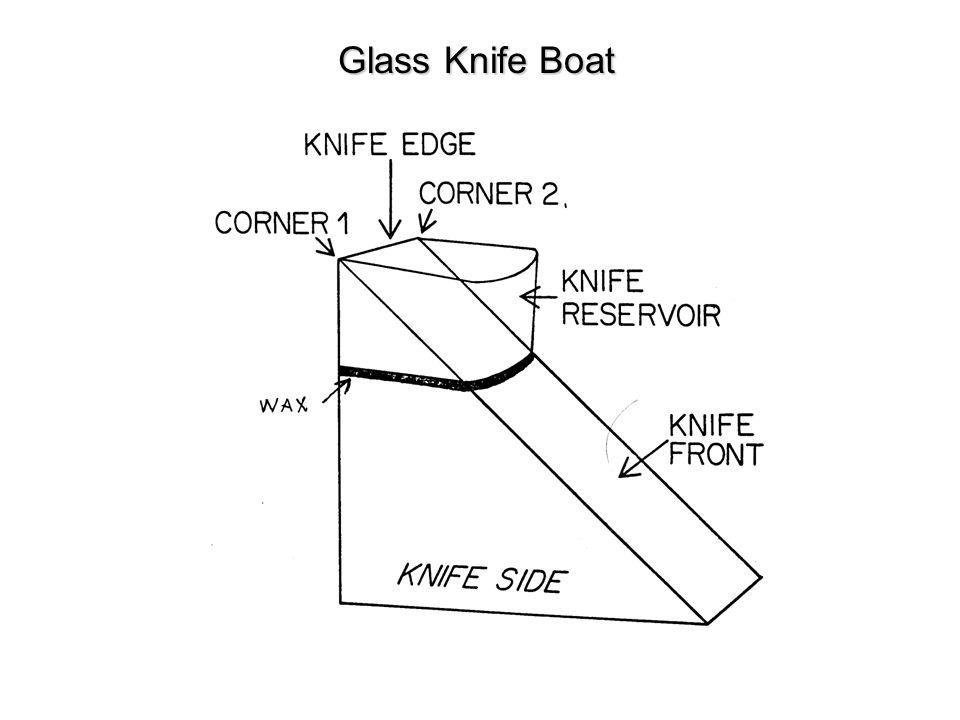 Glass Knife Boat