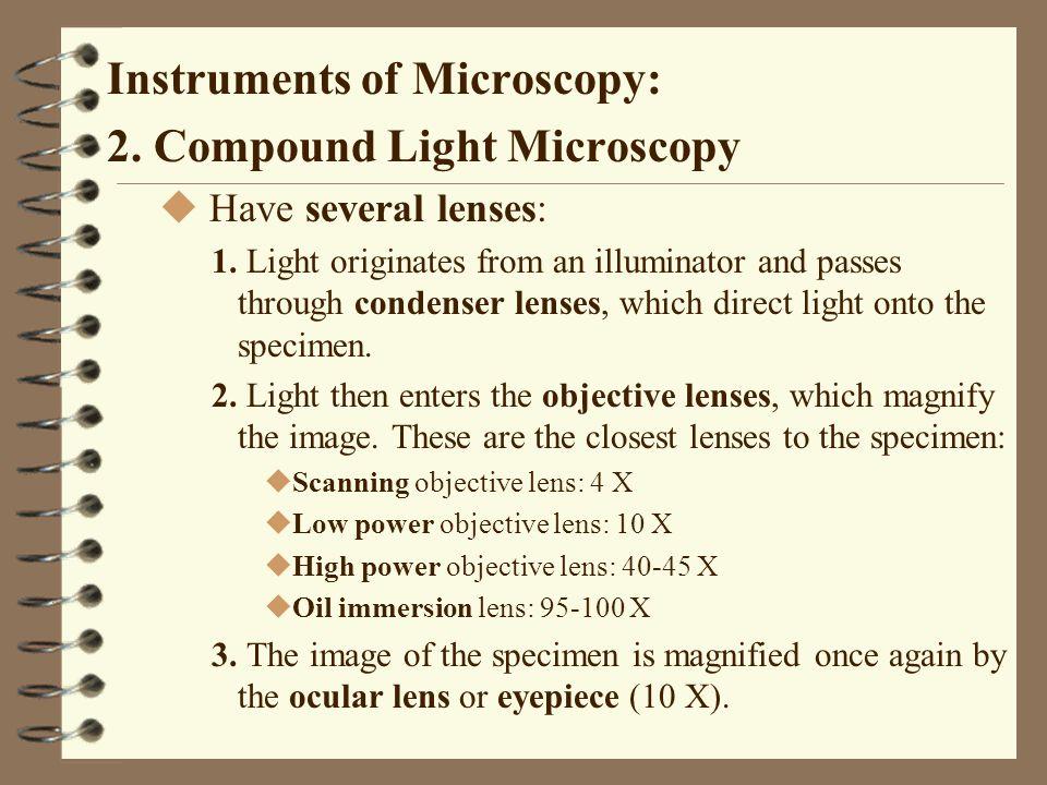 Preparation of Specimens for Microscopy 2.