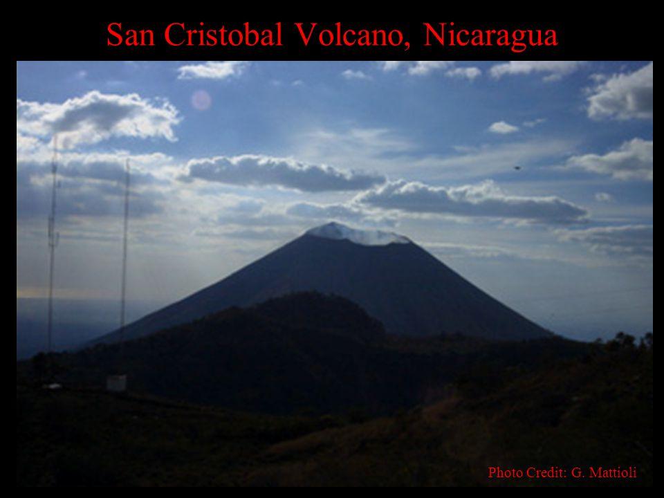 San Cristobal Volcano, Nicaragua Photo Credit: G. Mattioli