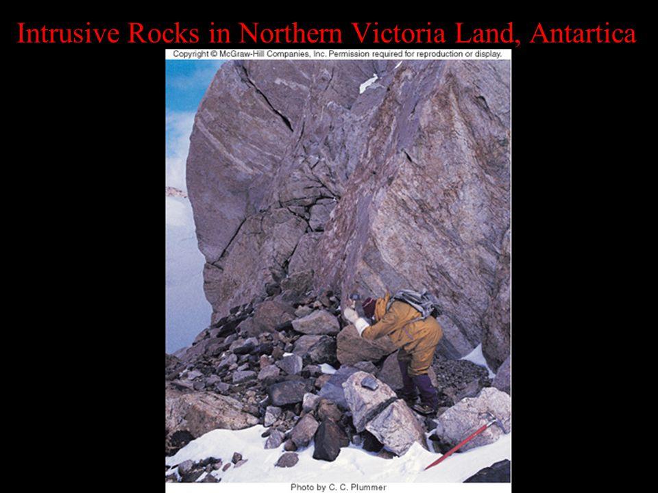 Intrusive Rocks in Northern Victoria Land, Antartica