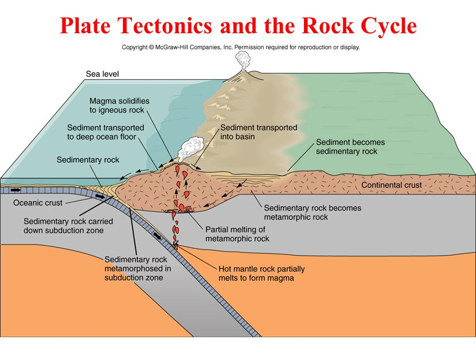 Plate Tectonics and the Rock Cycle