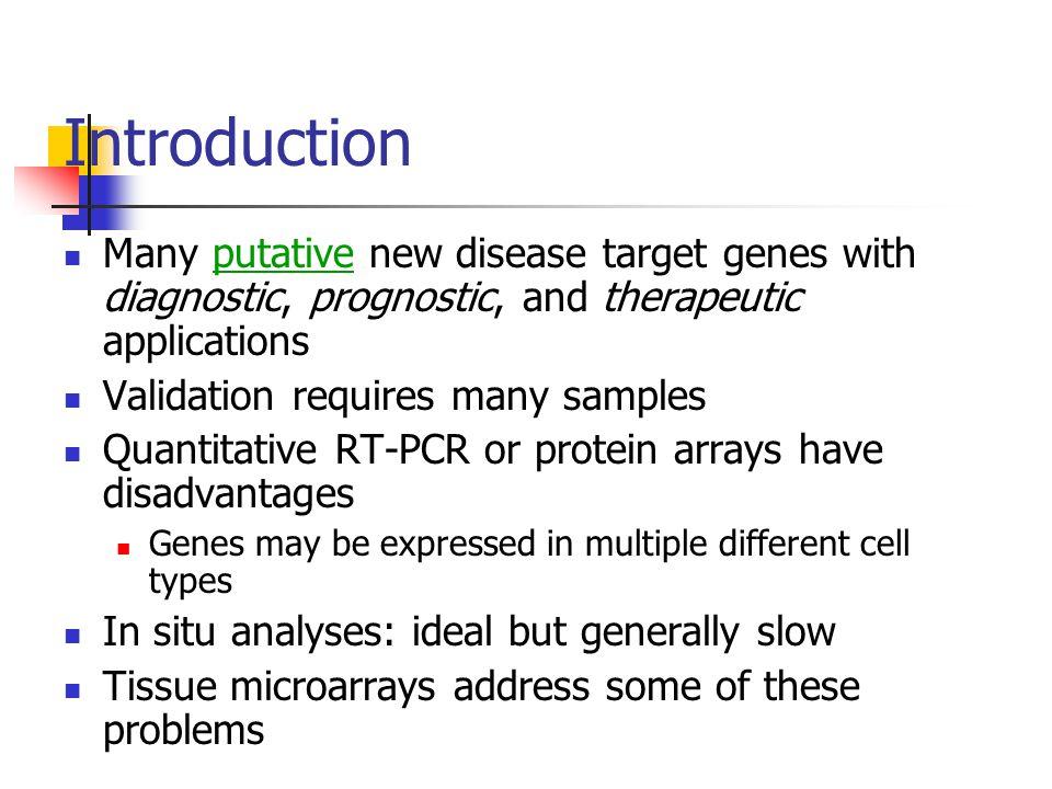 TMA Technology Tissue microarray technology for high-throughput molecular profiling of cancer Kallioniemi O et.al.