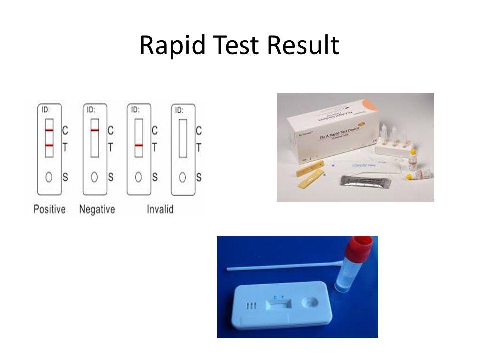 Rapid Test Result