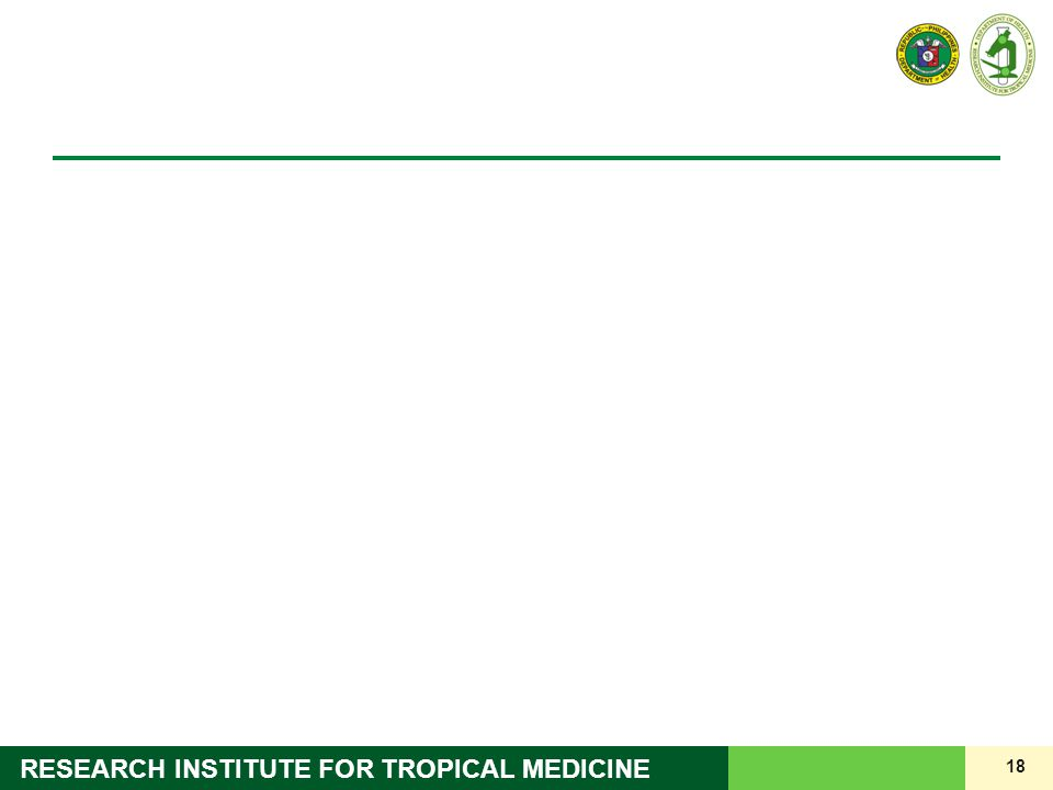 18 RESEARCH INSTITUTE FOR TROPICAL MEDICINE