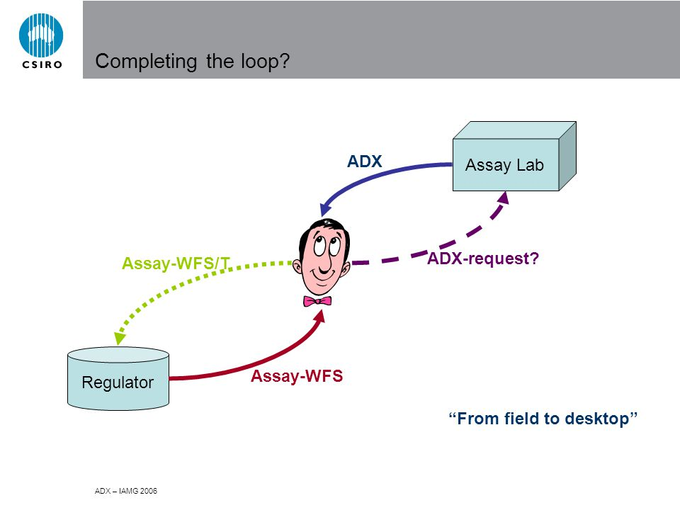 ADX – IAMG 2006 Completing the loop.