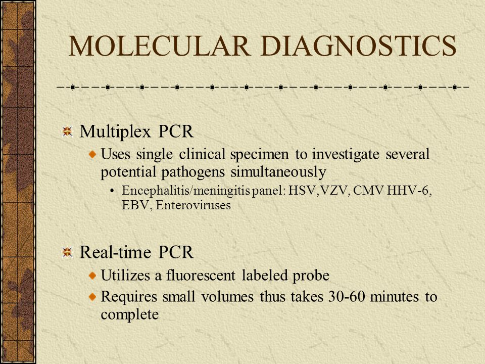 Collection and Processing of Clinical Specimen Diagnostic Technologies Culture Antigen detection Serology Molecular diagnostics Rapid Diagnostic Test CLIA-Waived tests Other rapid non-CLIA waived tests